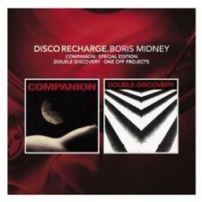 COMPANION/DOUBLE DISCOVERY - DISCO RECHARGE: BORIS MIDNEY 2 CD NEW!