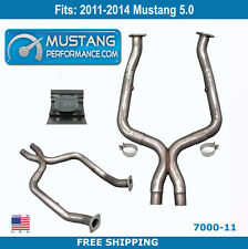 2011-2014 Mustang Off Road X Pipe w/FREE SHIPPING