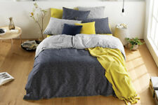 Sheridan Bunbury Midnight King Quilt Cover Set  Fully Reversible Brand New