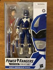 mighty morphin power rangers blue 6 lightning collection billy unopened figure