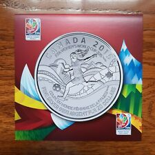 Canada 20 Dollars $20 for $20 FIFA Women's Football Soccer World Cup 2015 Card