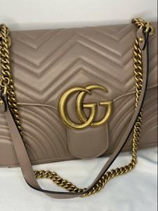 Gucci GG Marmont Matelassé shoulder bag - Size Medium