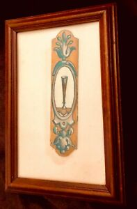 CIRCA 1700's EUROPEAN STAINED GLASS PANEL, EXCELLENT CONDITION