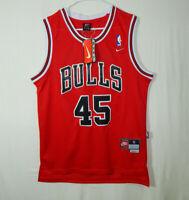 NWT Michael Jordan Chicago Bulls NBA Basketball Jersey #45 Nike Size Small S