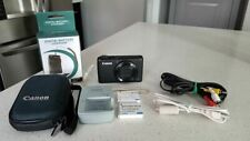 Canon PowerShot S95 10Mp Digital Camera: Black w/ Extra Batteries & Car Charger