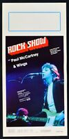 : Rock Show Paul Mc Cartney Beatles Wings Musical N08