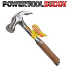 Estwing E16C 16oz Curved Claw Hammer Leather Grip
