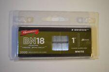 Arrow Brad Nails - BN1816W 1'' inch 25mm x2000 - NEW!