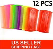 12 PCS LICE AND FLEA NIT DANDRUFF COMBS / PEINES DOBLE FINOS PARA LOS PIOJOS