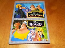 WALT DISNEY The Emperor's New Groove & Kronk's New Groove 3-Disc DVD Blu-Ray NEW