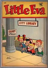 Little Eva #7 1953-St John-rare issue-high grade-VF-