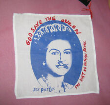 sex pistols cotton hanky. God Save The Queen. punk hankie