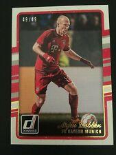 2016-17 Panini Donruss Canvas 33 Arjen Robben ed/49 FC BAYERN