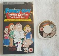** FAMILY GUY PRESENTS STEWIE GRIFFIN THE UNTOLD STORY ** PSP ** UMD **