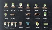 AUTOUNION DKW original Anstecknadel/n stick pin badge/s 1930er bis 1960er Jahre