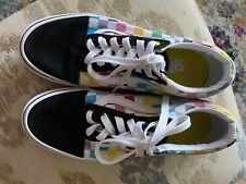 Vans Size 7.5 Multicolored Tennis Shoes