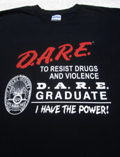 DARE to Resist Drugs and Violence LARGE T-SHIRT santa barbara california
