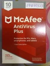 McAfee Anti Virus Plus 2020 10 Devices 1 Year Internet Security