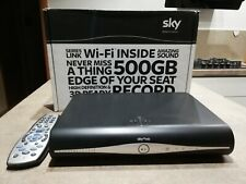 SKY HD Digital Video Recorder And Satellite Receiver + remote controller. NEW