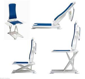 Bellavita bath lift lightweight and compact reclining mobility chair folds flat