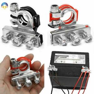 Car Post Battery Terminals Wire Cable Clamp Terminal Car Accessories Connectors