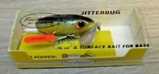 Vintage Fred Arbogast Jitterbug 3/8 oz Clicker - Fishing lures lot 1506