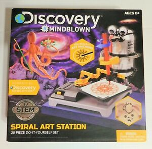 Discovery DIY Spiral Art Station