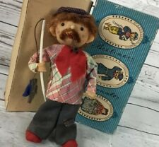 Berliner Originale German Souvenir Doll In Original Box 8.75 angler Hauptstadt