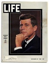 JFK Assassination Life Magazine John F. Kennedy Death