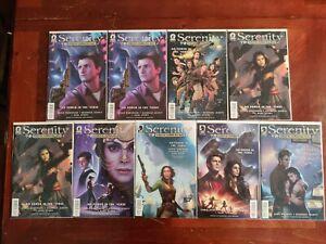 Dark Horse Comics Serenity #1-4 6 Comic 9 Book Lot