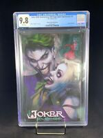 CGC 9.8 Joker 80th Anniversary Artgerm Collectibles Edition Punchline