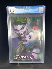 CGC 9.8 Joker 80th Anniversary Artgerm Collectibles Edition Punchline