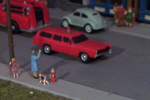 FIRE CHIEF Station Wagon FORD LTD N Scale Vehicle