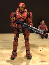 Mcfarlane Halo 3 Reach Video Game Action Figure Red Spartan Mark Vi Sarge Shotty