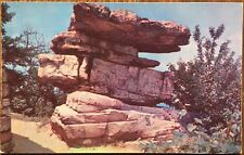 Chattanooga, TN Postcard: Umbrella Rock Point Park, Lookout Mountain - Tennessee