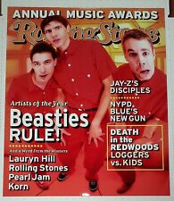 Beastie Boys: Rolling Stone Promo Poster, January 21, 1999