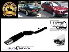 SILENCIEUX POT D'ECHAPPEMENT BMW E34 525 24V 1988-1993 1994 1995 1996 TIP 145x75