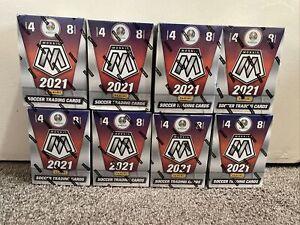 🔥2020-21 Panini UEFA Euro 2020 Mosaic Factory Sealed Blaster Box Lot ( 8 )