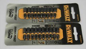 DEWALT Phillips #2 Impact Driver Bits 10 Pack x 2, DWA1PH2IR10