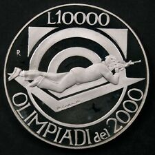 San Marino 1999 10000 Lire, 2000 Olympics - Gem Proof DCAM