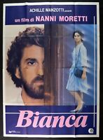 Werbeplakat Weiß Laura Morante Nanni Moretti Remo Remotti M282