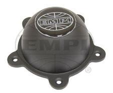 EMPI WHEEL CENTER CAP GT-5 & 5-RIB, BLACK CAP WITH SCREWS AND LOGO, EACH 9641