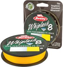 Berkley Whiplash 8 Braid Superline Yellow 300m 0.10mm 32lb 1446692