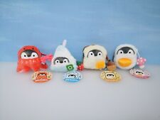 Cute Koupen Chan Penguin Coin Pouch Purse 8cm Plush Keychain (Squeaky Sound)
