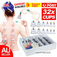 Autoulet Massage Acupuncture Suction Massager Pain Relief Cupping Set - 32 Piece