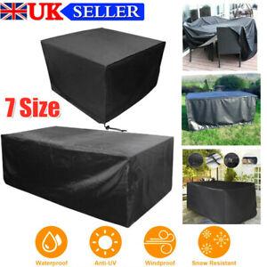 Heavy Duty Waterproof Garden Patio Furniture Cover Outdoor Rattan Table Cover!