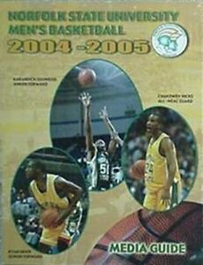 2004-05 NORFOLK STATE SPARTANS BASKETBALL MEDIA GUIDE