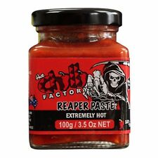 THE CHILLI FACTORY Carolina Reaper Paste /Super HOT sauce chillies EXTREMELY HOT