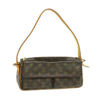 LOUIS VUITTON Monogram Viva Cite MM Shoulder Bag M51164 LV Auth pg1153