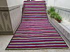 Large Moroccan Azilal Berber Handmade Rug Beni ourain Tribal Wool Rug Carpet